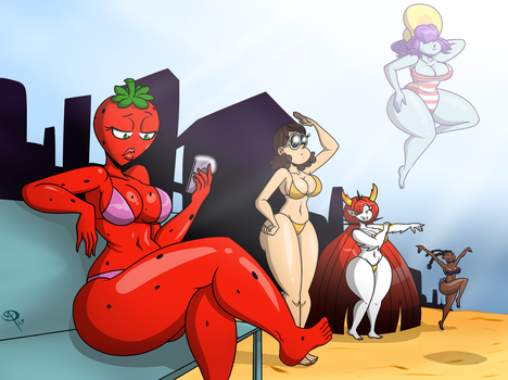 Thicc Beach by Chillguydraws