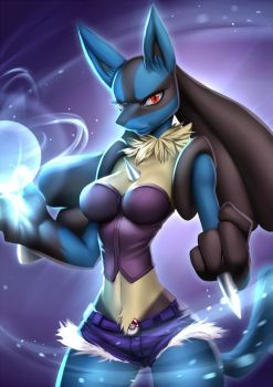 Lucario (pack01) by playfurry