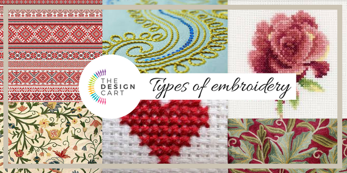 Types of embroidery by falaknagpal01