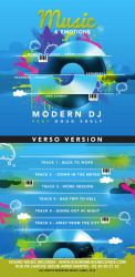 Everyday Modern Music And Emotions Cd Cover by n2n44