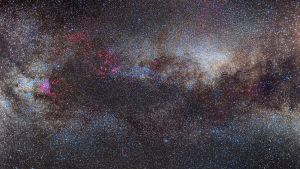 The Great Rift in the Milky Way by Captain-Marmote