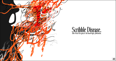 Scribble Disease by Chromakode