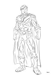 New Superman, My Version DCUO by elven-jedi