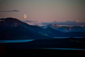 mountain night by icelander66