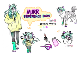 Murr ANTHRO REFEFERENCE SHEET COMMISSION by Cipple