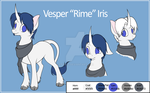 Vesper Iris Reference Sheet by Ethaes
