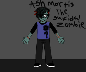 New quick Character Doodle: by DatAnarcho-DemonBoi