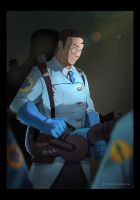 WRD Blue Medic by biggreenpepper