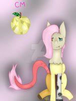 Fragile Chaos (FluttershyxDiscord) by Royal-Snowflake