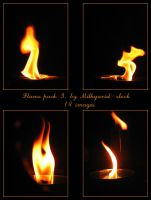 Flame pack 3 by Mithgariel-stock