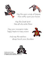 Cherokee prayer of blessing by Kittybriton
