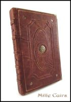 Celtic antique journal by MilleCuirs