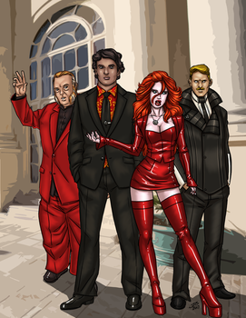 SPL: Scions Of Asmodeus by ProdigyDuck
