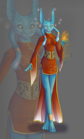 OC Concepts: Mel'O'Dai by The-Hare