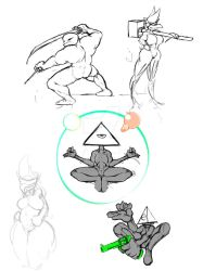 Doodles for the Nuke Sit by Anima-Souloss