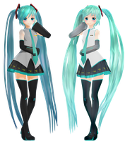[MMD] Gency Hatsune Miku [DOWNLOAD] by KamaNoTenshi