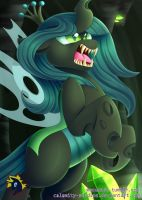 Queen of the Changelings by Calamity-Studios