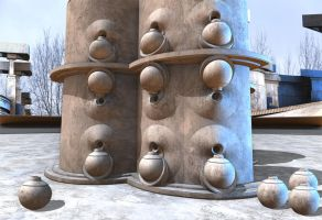 Community Water Tower by HalTenny
