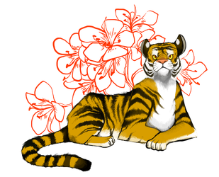 Chinese Zodiac - Tiger by Zennore