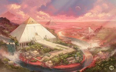 Ancient Mars and ATTENTION ARTISTS by ExitMothership