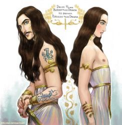 Dacian princely brothers by Elveo