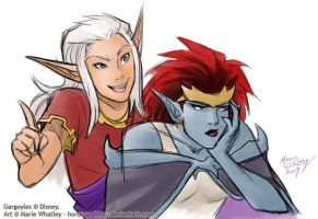 Annoying Demona by Horus-Goddess