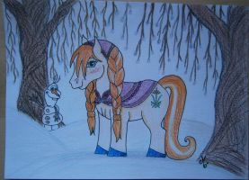 My Little Pony Anna by Mercantille