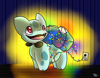 Light the Saur up! (gift) by Jufnaty