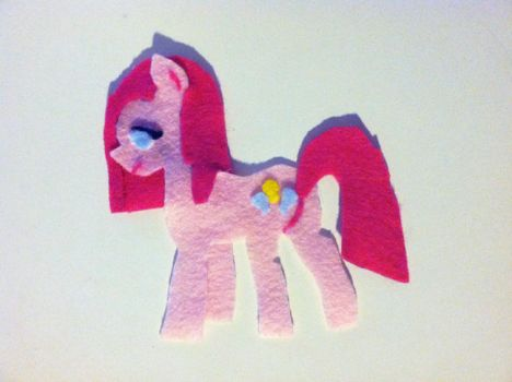 Pinkamena Felted by RiftwingDesigns