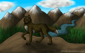 In the Mountains by Tienala