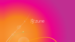 Zune's Last Year Wallpaper by gifteddeviant