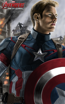 Avengers Age of Ultron Captain America by billycsk