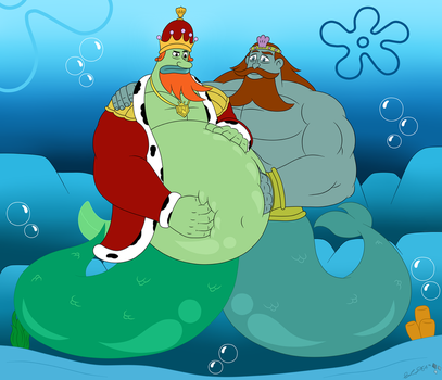 two kings one belly by starlightdragon64 on deviantart