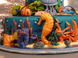 Underwater Cake - Front Zoomed by SlowMatsu