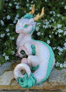 Spirited Away Haku themed Chinese dragon by The-SixthLeafClover