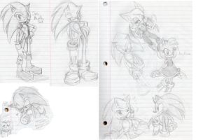 Sonic Sketches by Chicaaaaa