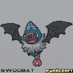 Pokecraft Swoobat by PkmnMc