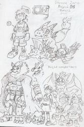 Digimon Zone Project X Concept by BlueIke