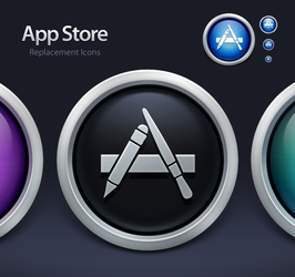 App Store Replacement Icons by SmarTramS