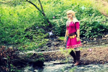 Zelda by pixiebellecosplay