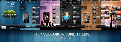Teknologik iPhone theme by darren-coates