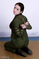 Army Girl Bondage 12 by D-ZHANG-PHOTOGRAPHY