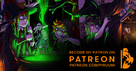 Become My Patron on Patreon by PiruuMi
