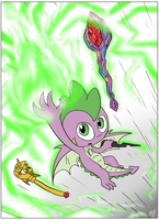 Spike of the Innuendoverse by Loreto-Arts