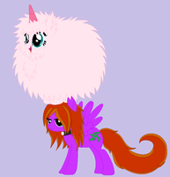 Fluffle Puff...Get off.. by VeronicaPrower