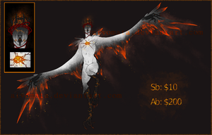 Haroth Auction: Burning Rose [Closed] by Aivomata