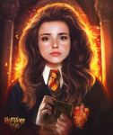 Hermione Granger. ANIMATION by push-pulse