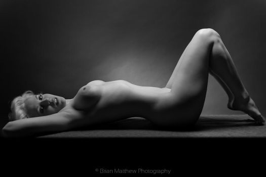 Table Nude No 5 BW by BrianMPhotography