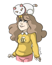 Bee and Puppycat by msciuto
