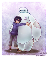 Big Hero 6 fanart by visualkid-n